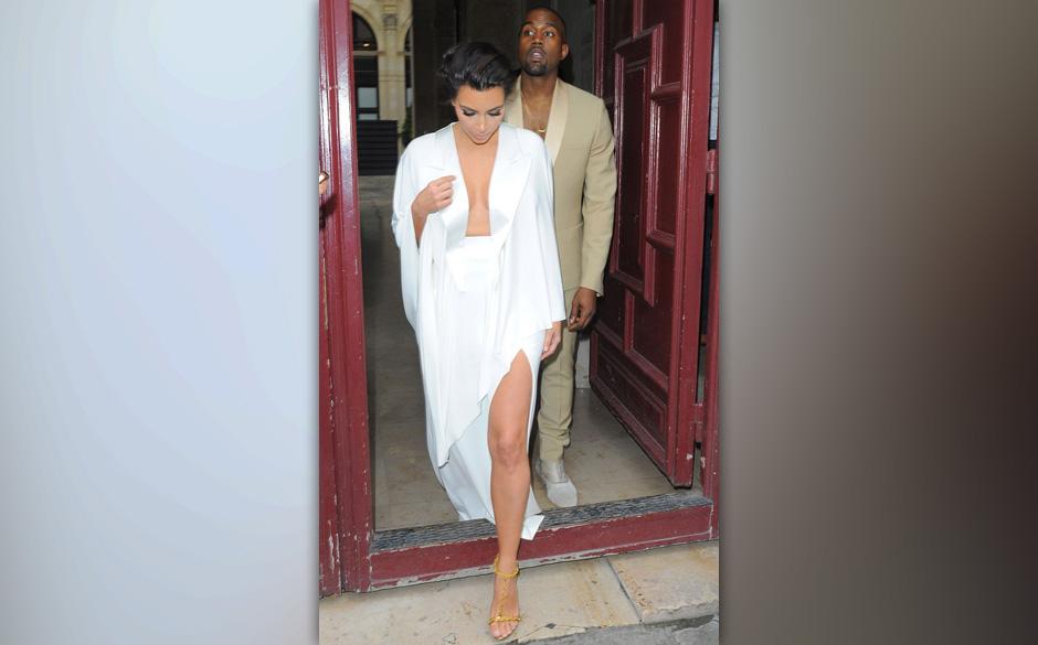 'The last supper': Kim Kardashian und Kanye West am Vorabend zu ihrer Hochzeit...