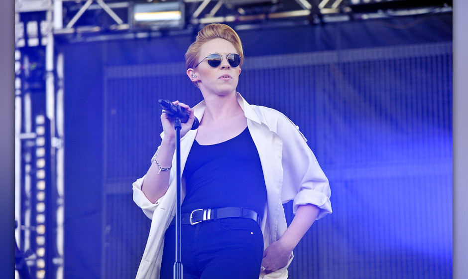 NEW YORK, NY - MAY 17:  La Roux performs during the 2013 Electric Daisy Carnival New York at Citi Field on May 17, 2013 in Ne
