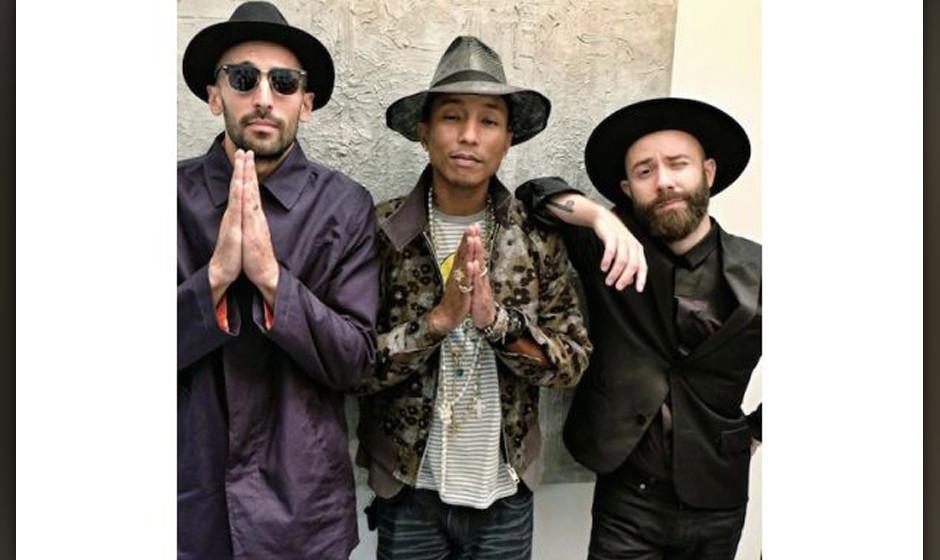 Magisches Trio: JR, Pharrell und Woodkid planen mit Hans Zimmer ein gemeinsames Flmprojekt.