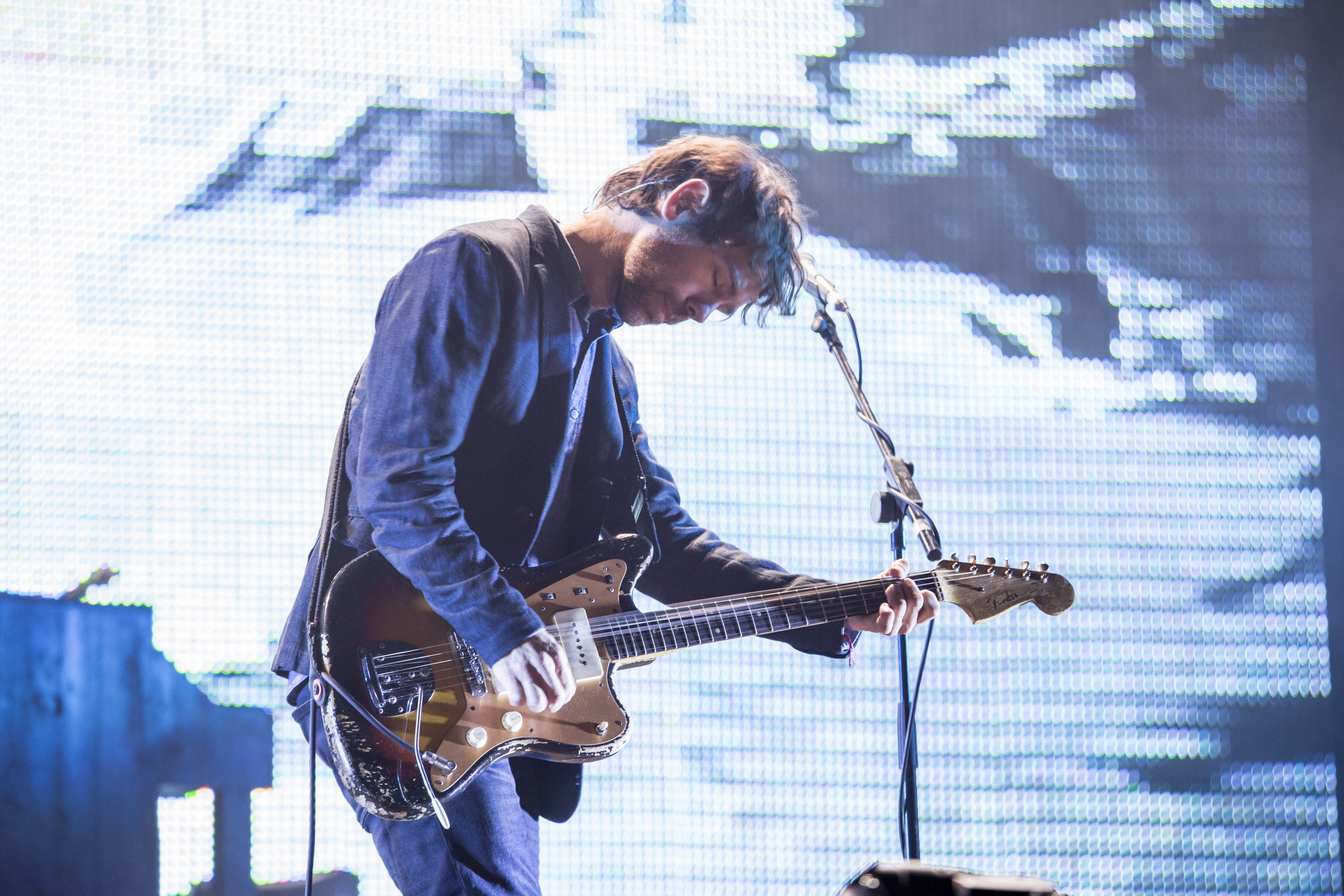 BARCELONA, SPAIN - MAY 30: Aaron Dessner of The National performs on stage on day 3 of Primavera Sound 2014 on May 30, 2014 i