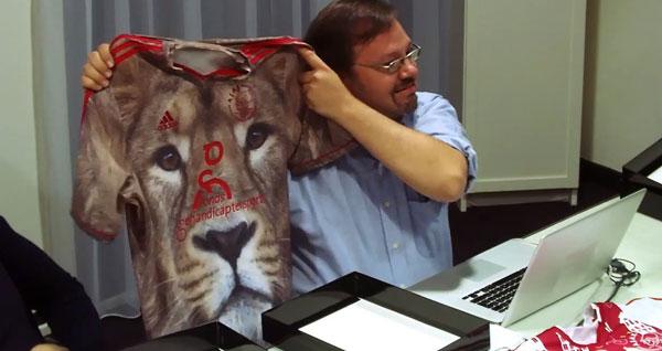 'Wie wäre es mit einem Löwen? Rrrrauwwwr!'