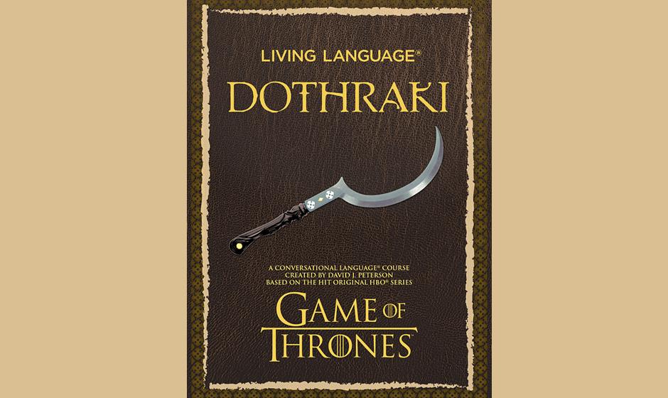 'Living Language Dothraki' - ab Oktober 2014 erhältlich.