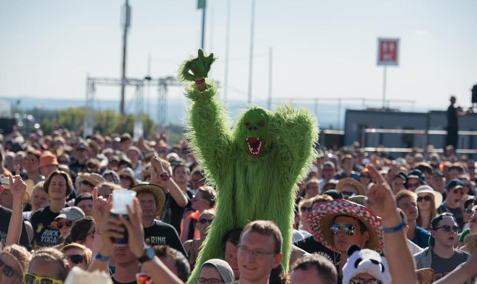 Gib dem, Gib dem Neongrünen Affen Zucker!