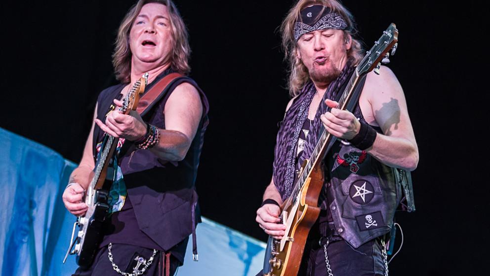 Iron Maiden spielen am 13.06. in der Berliner Waldbühne