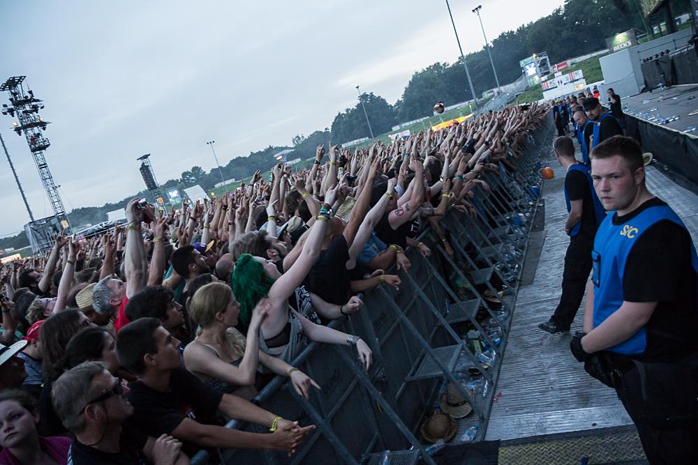 Tausende Festivalbesucher feierten bei 'Rock im Park' und 'Rock am Ring'