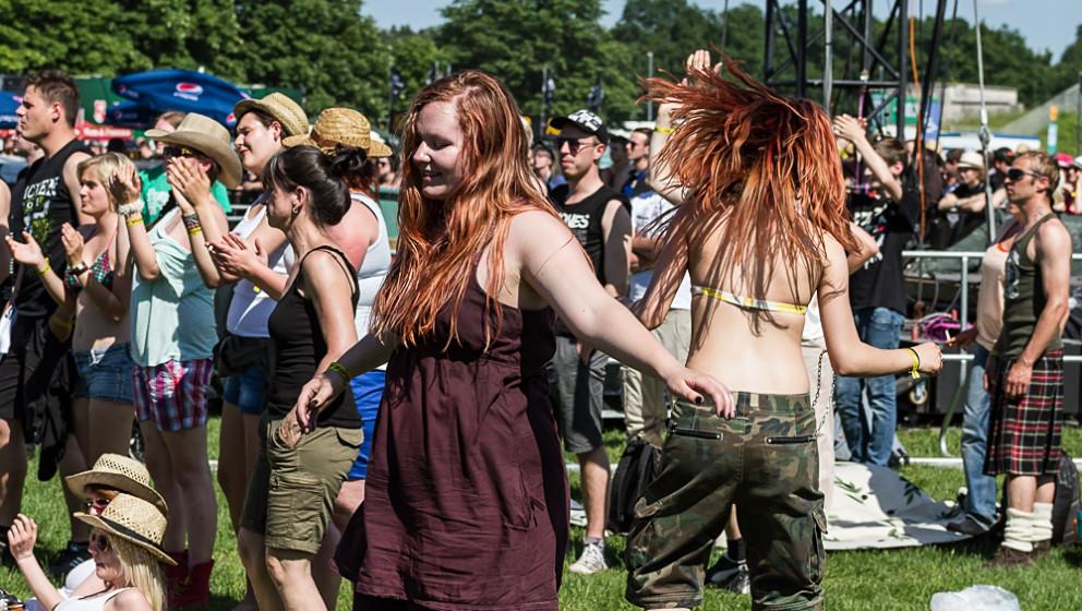 'Ein friedliches Festival', das ist die Bilanz von Rock im Park 2014.