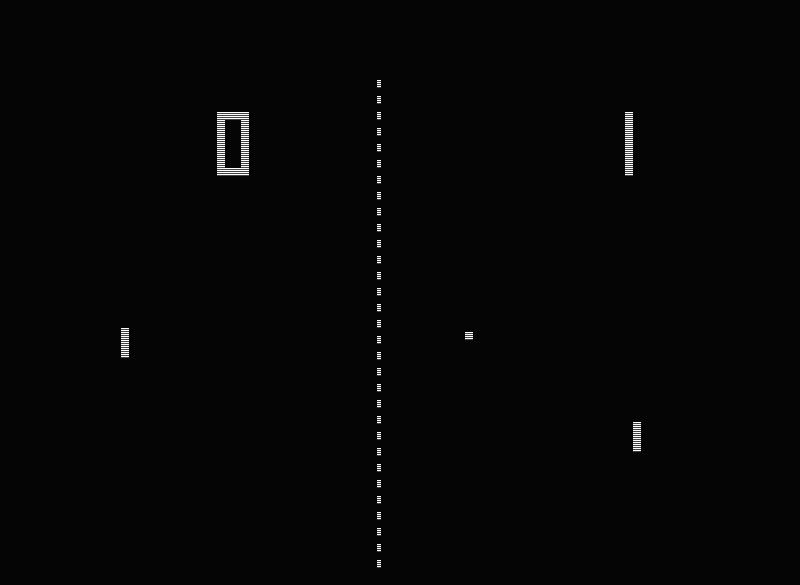 ...das Videospiel Pong...
