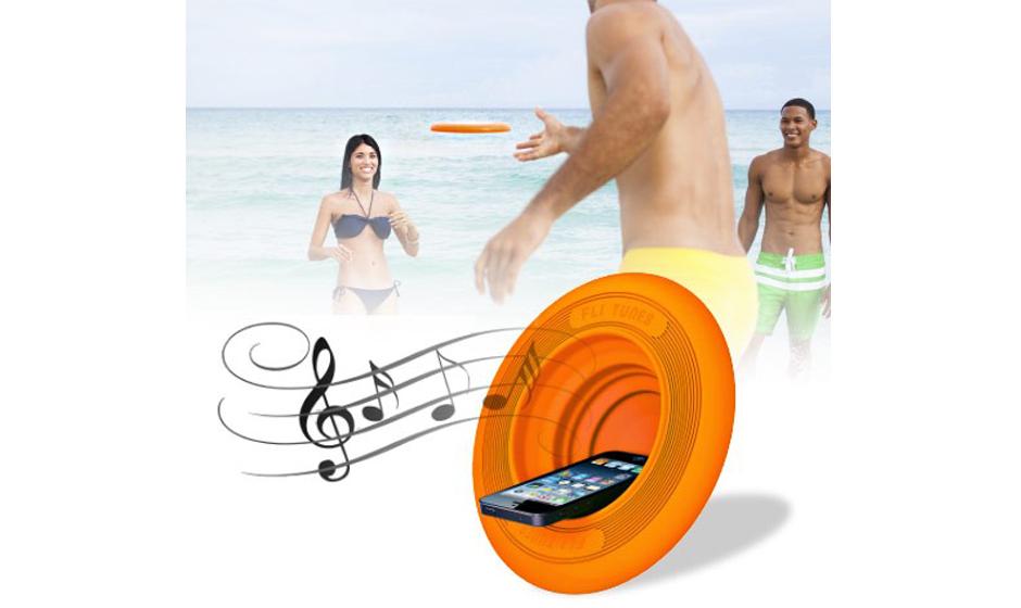 2 in 1: Frisbee und Musikverstärker, 18,95 Euro Gesehen bei geek-onlineshop.de