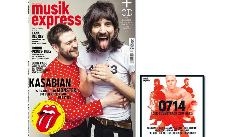 Jetzt im neuen Musikexpress: Kasabian sprechen über ihr Album, rockfreie Wochenenden und Fußball.