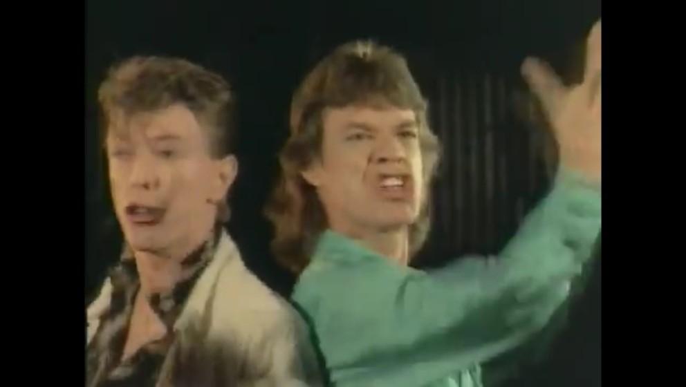 Bowie und Jagger im Video zum 'Dancing In The Street'-Cover