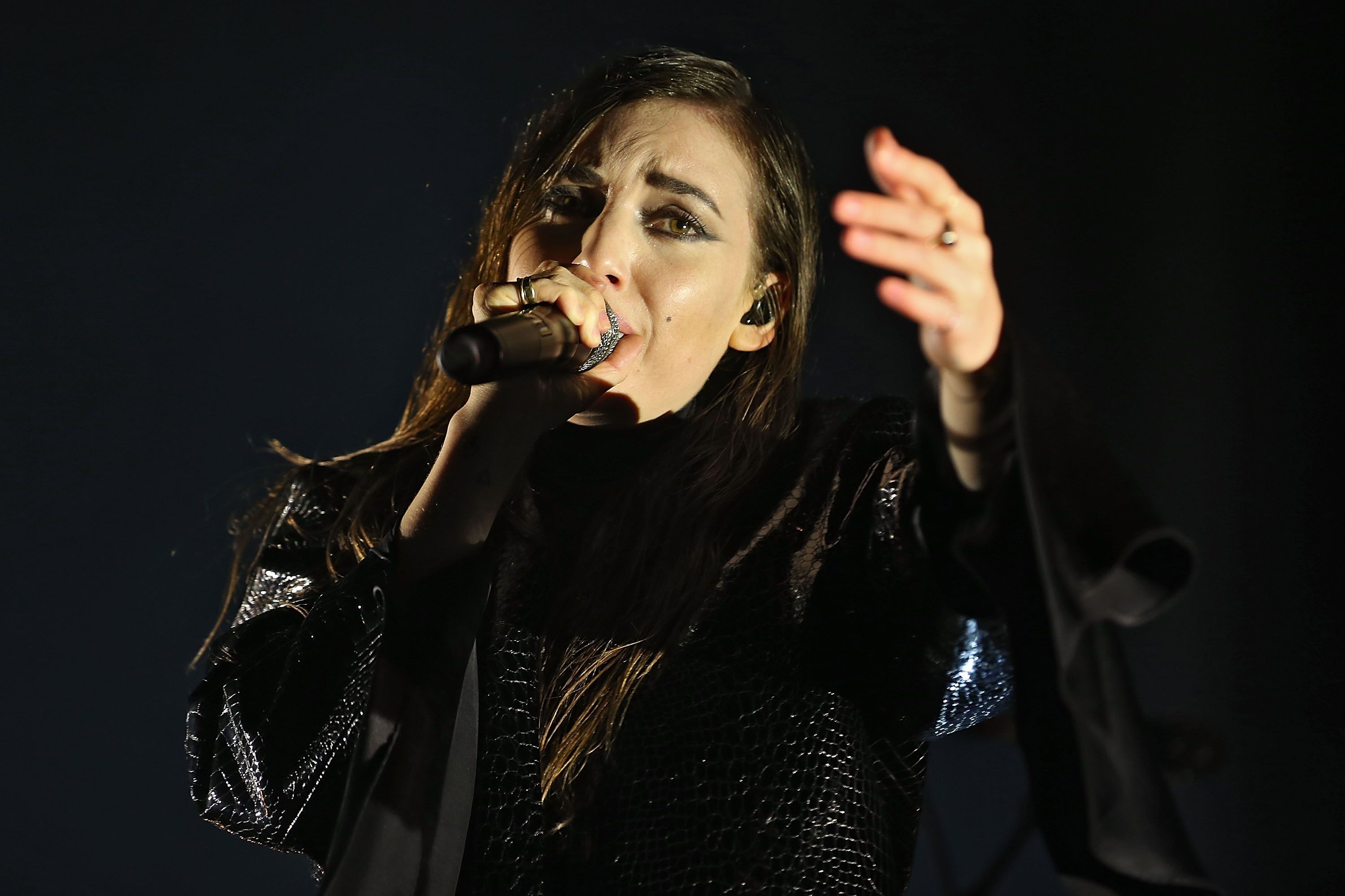 NEUHAUSEN, GERMANY - JUNE 20:  Lykke Li performs on day 1at the Southside Festival 2014 on June 20, 2014 in Neuhausen, German