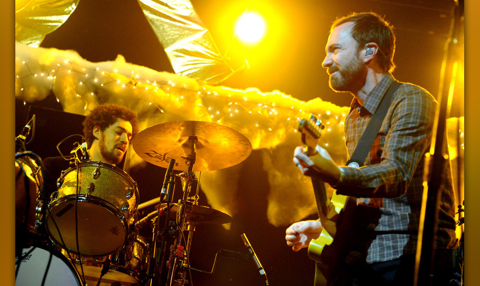 Danger Mouse and James Mercer of Broken Bells perform on night two of KROQ Almost Acoustic Christmas at Gibson Amphitheatre o