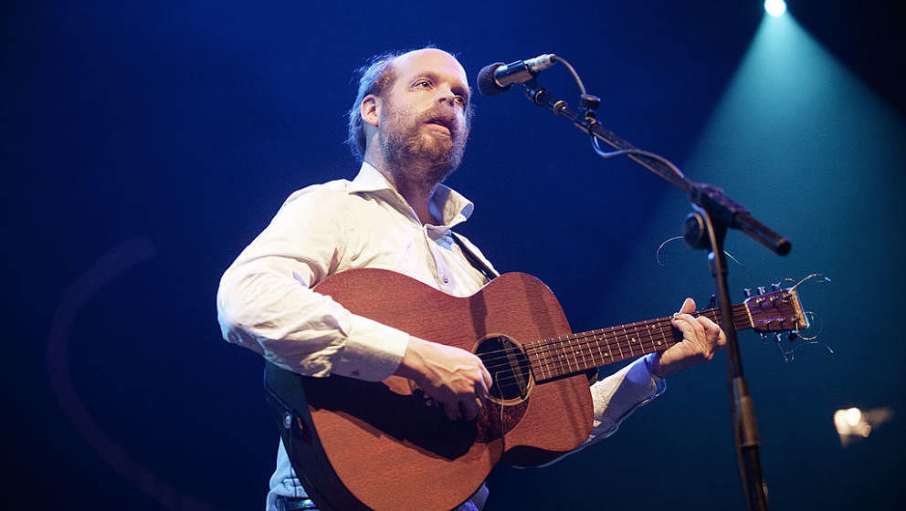 GLASGOW, UNITED KINGDOM - JANUARY 29: Bonnie 'Prince' Billy performs on stage during Celtic Connections Festival at The Old F