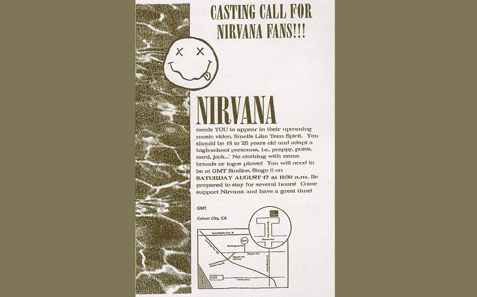'Bitte keine Markenkleidung oder sichtbare Logos': Das war der Casting-Aufruf...