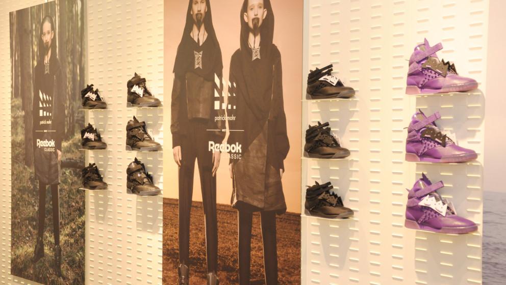 Patrick Mohr meets Reebok Classic: In der Solebox stellte der deutsche Designer seine neue Sneakerkreation vor...