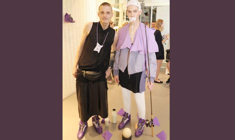 Der Designer und sein Lachs: Patrick Mohr und sein 'Lachs'-Model