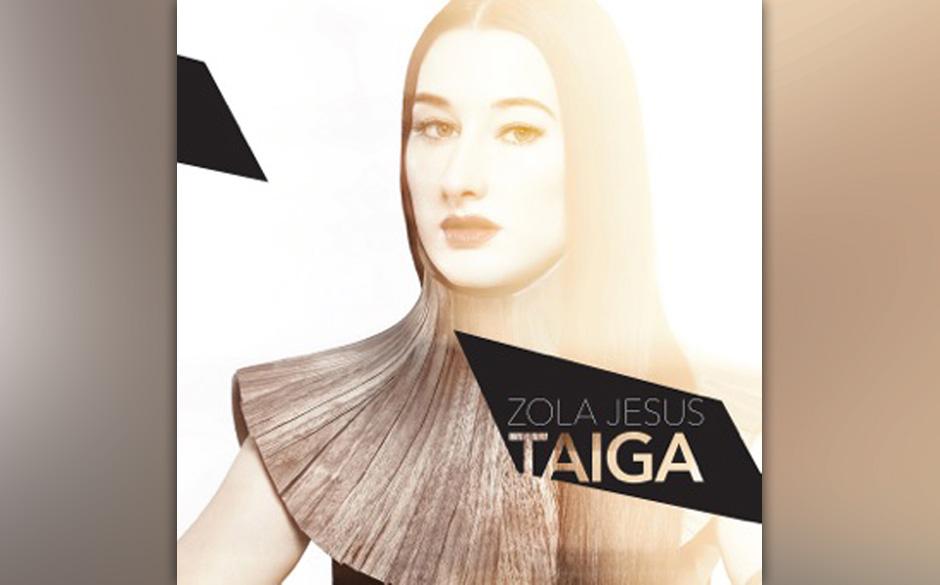 Das Artwork des neuen Zola-Jesus-Albums TAIGA.