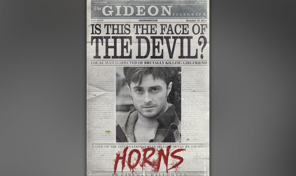 Daniel Radcliffe trägt Hörner statt Narben...