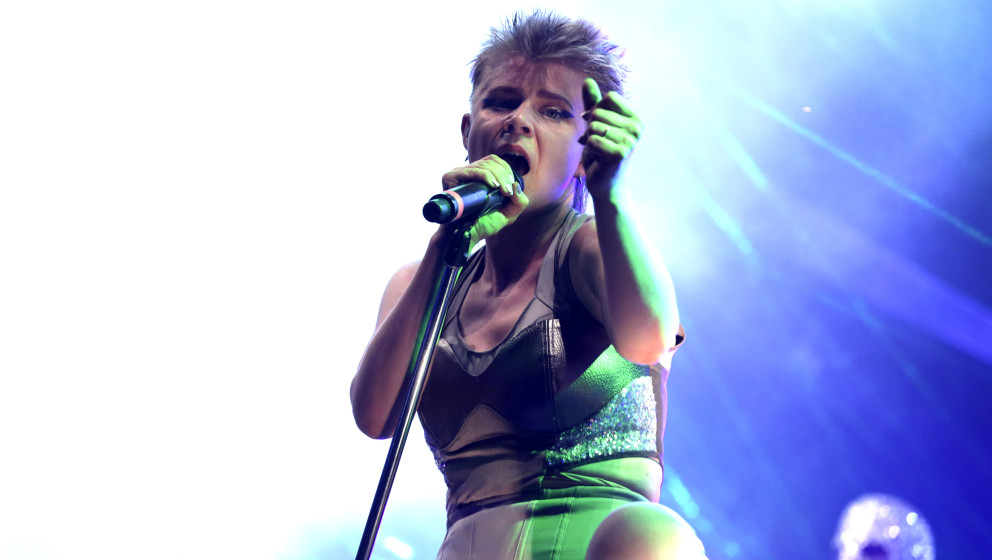 Robyn live beim Melt! Festival auf der Halbinsel Ferropolis. Gräfenhainchen,