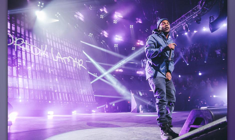 Kendrick Lamar will in diesem Jahr...
