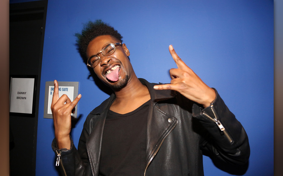 NEW YORK, NY - JULY 23:  Recording artist Danny Brown attends PeterPalooza 3 at Best Buy Theater on July 23, 2014, in New Yor
