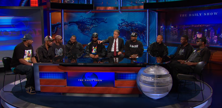 Alle neun Wu-Tang-Mitglieder bei Jon Stewart