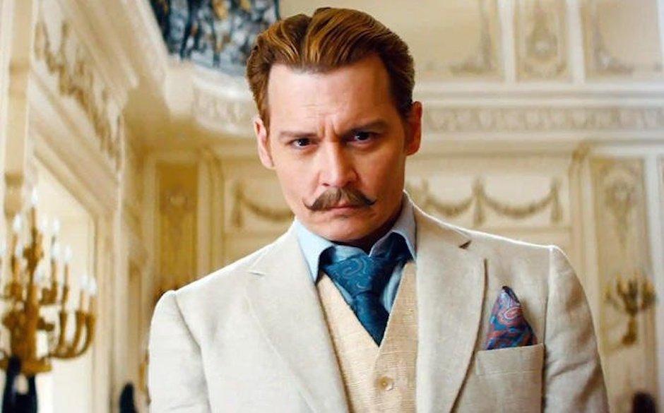 Eleganter Trottel: Johnny Depp als Kunsthändler Charles Mortdecai.
