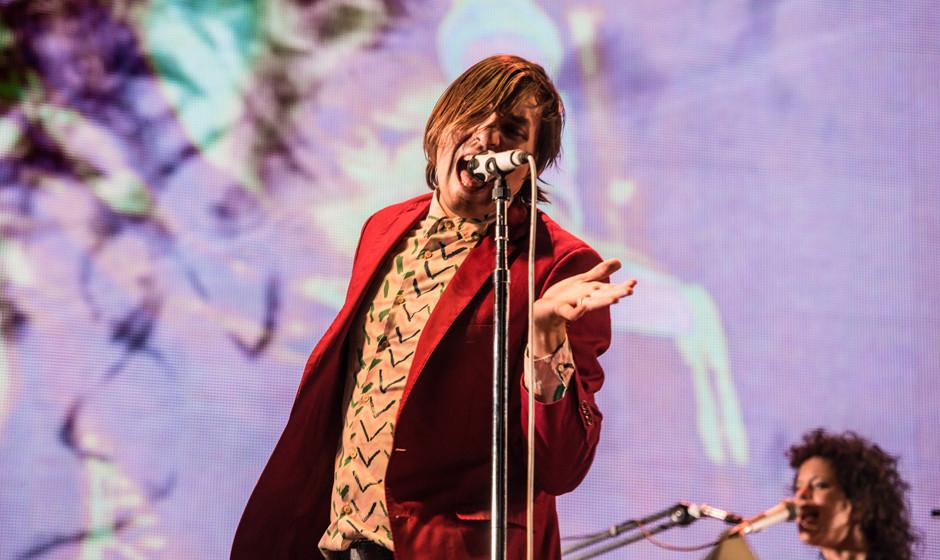 Arcade Fire, hier live beim Hurricane Festival 2014