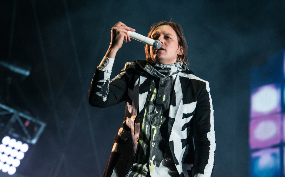 Arcade Fire live beim Hurricane Festival 2014