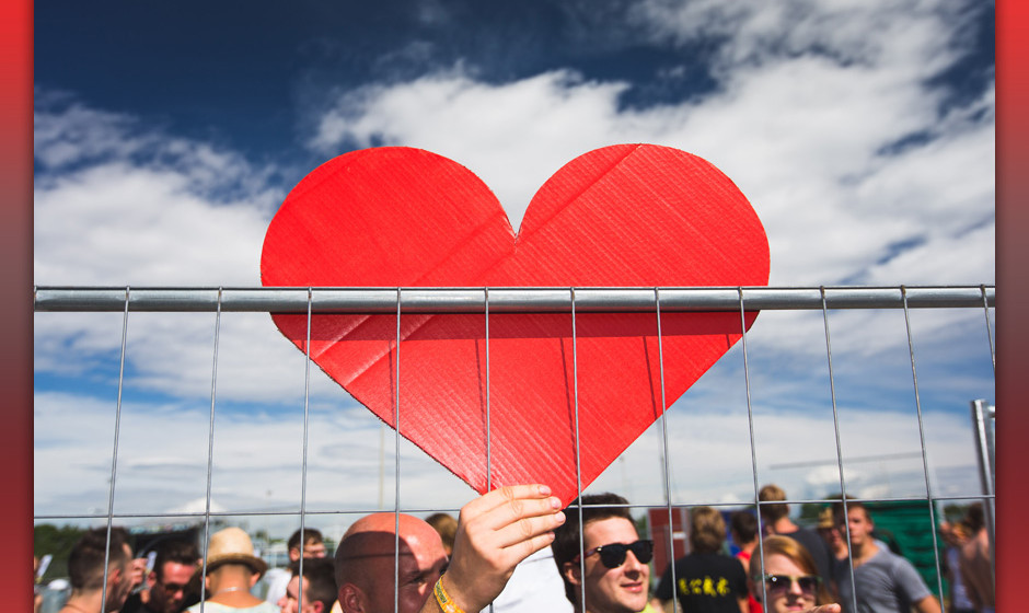 Naked Heart beim Frequency Festival 2014 - Macht Euch