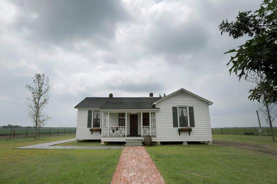 Johnny Cashs Elternhaus ist denkmalgeschützt.