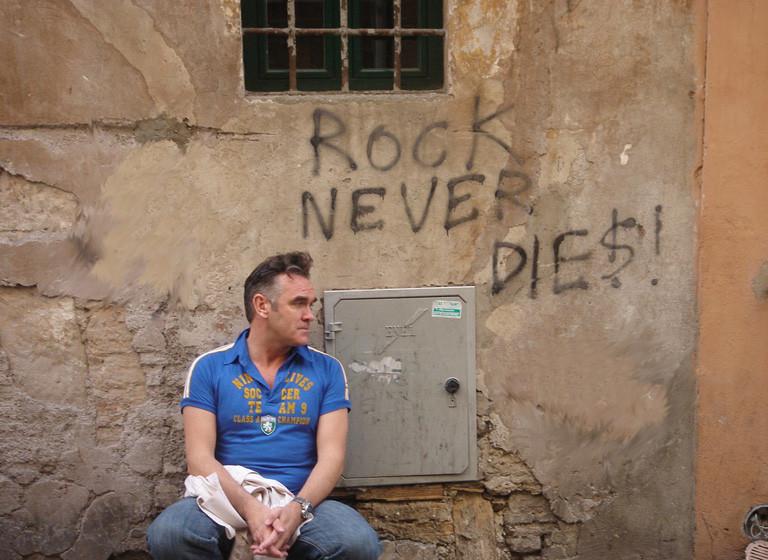 Nun greift Morrissey sogar Robin Williams an. Zumindest indirekt.