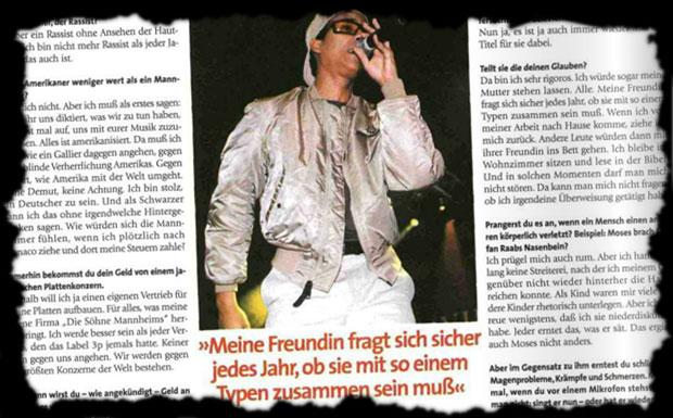 Lest hier ein Interview mit Xavier Naidoo, das bereits im Jahr 1999 geführt wurde und damals im Musikexpress erschienen ist.