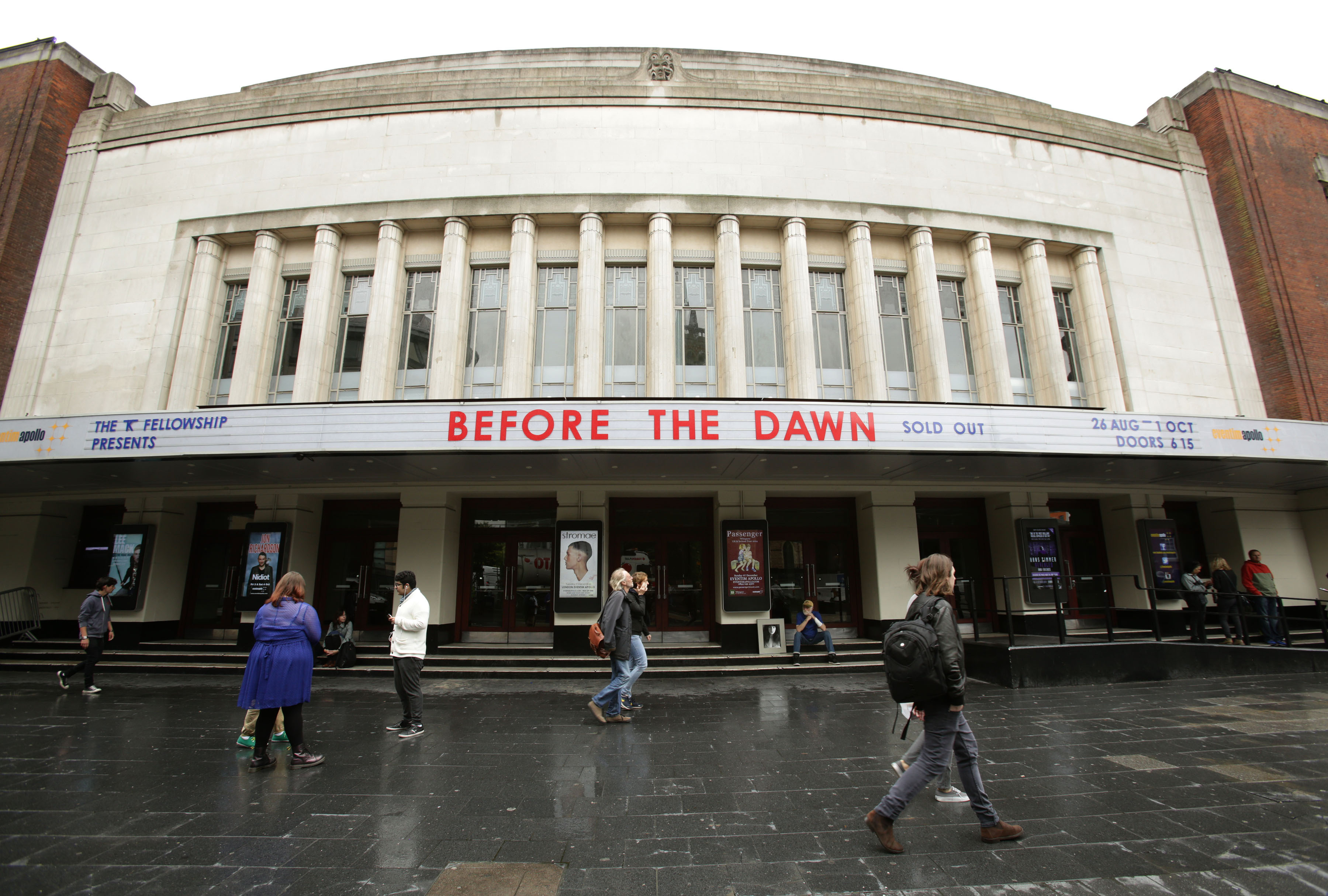 Kate Bush new tour. The Hammersmith Apollo, London, ahead of the singer Kate Bush's 'Before the Dawn' concert. Picture date: