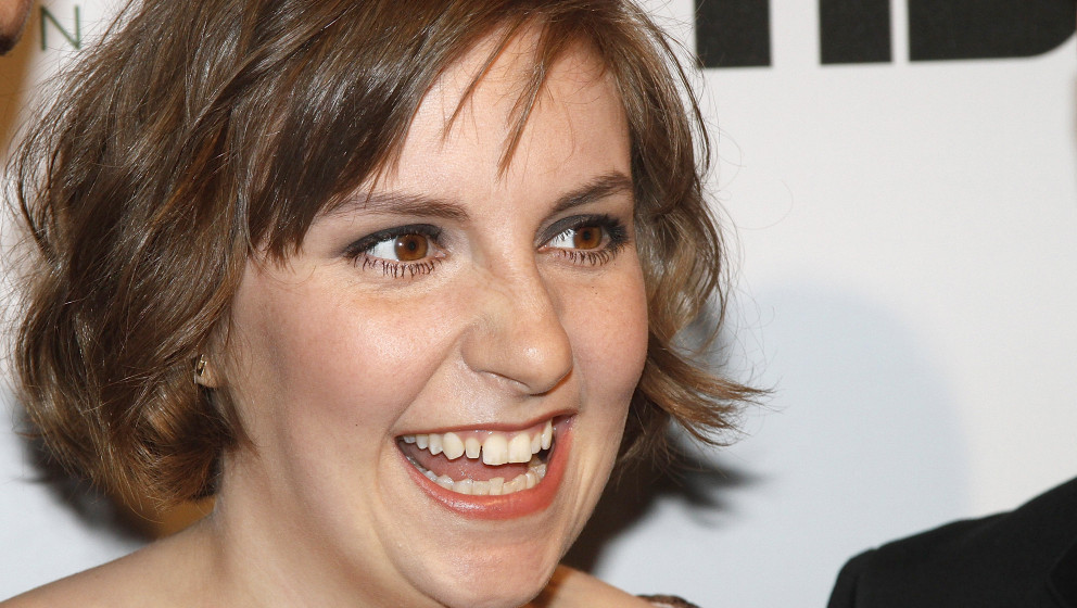 NEW YORK, NY - APRIL 07:  Lena Dunham attends the 2014 Point Honors New York gala at New York Public Library on April 7, 2014