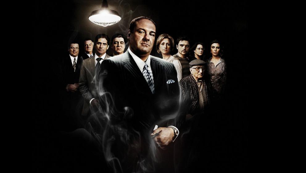 Platz 1: 'Die Sopranos'  USA 1999-2007, mit James Gandolfini