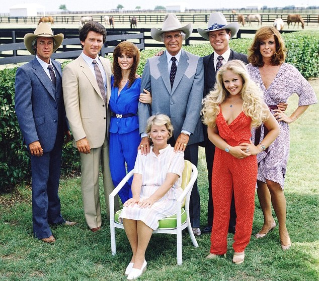 Platz 19: 'Dallas'   USA 1978-1991, mit Larry Hagman