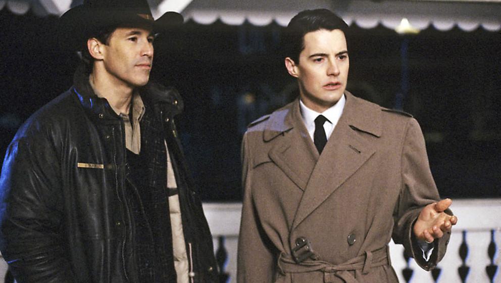 Platz 10: 'Twin Peaks'   USA 1991-1992, mit Kyle MacLachlan
