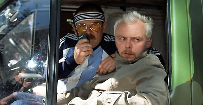 Platz 20: 'Spaced'   UK 1999-2001, mit Simon Pegg