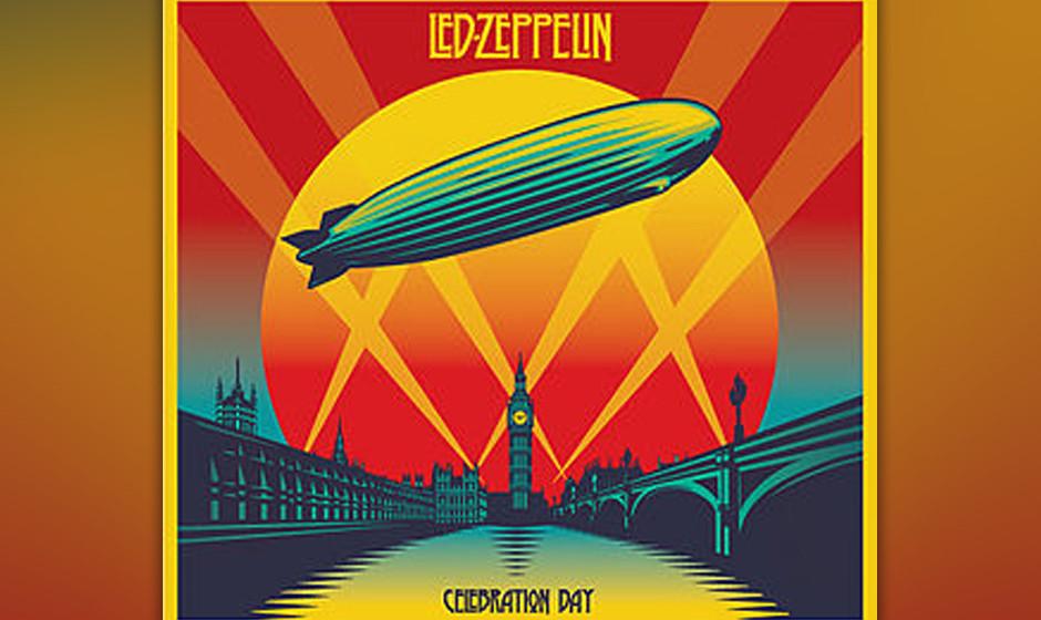 Etwas steif: Led Zeppelins 'Celebration Day' ohne Bewegung