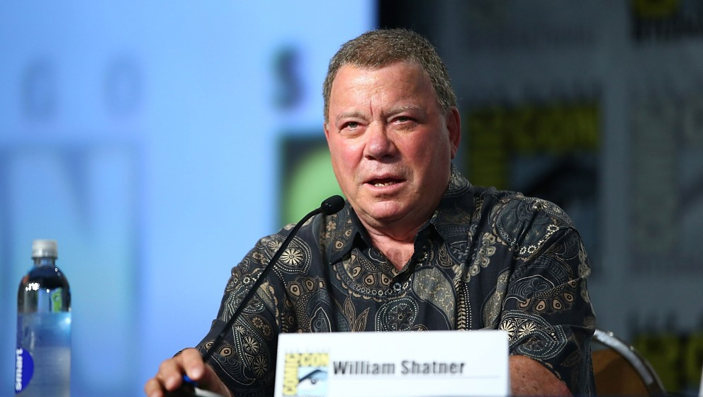SAN DIEGO, CA - JULY 18:  William Shatner attends the Comedy Legends of TV Land panel at Comic-Con International 2013 - Day 1