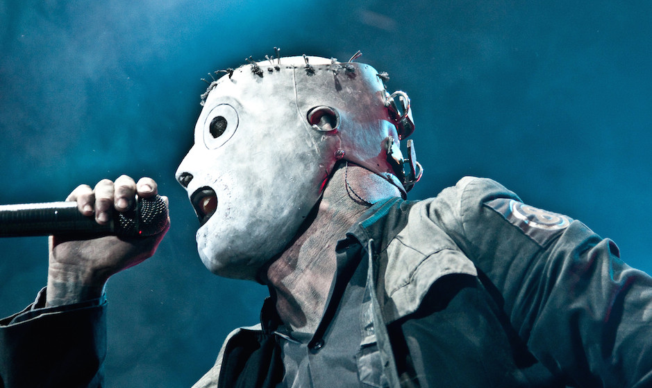 Lead Vocalist of Slipknot Corey Taylor performs at The Cypress Hill Smokeout on October 24, 2009 in San Bernardino, Californi