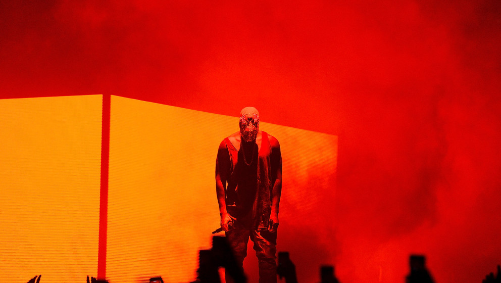 BRISBANE, AUSTRALIA - SEPTEMBER 15:  Kanye West performs live for fans at Brisbane Entertainment Centre on September 15, 2014
