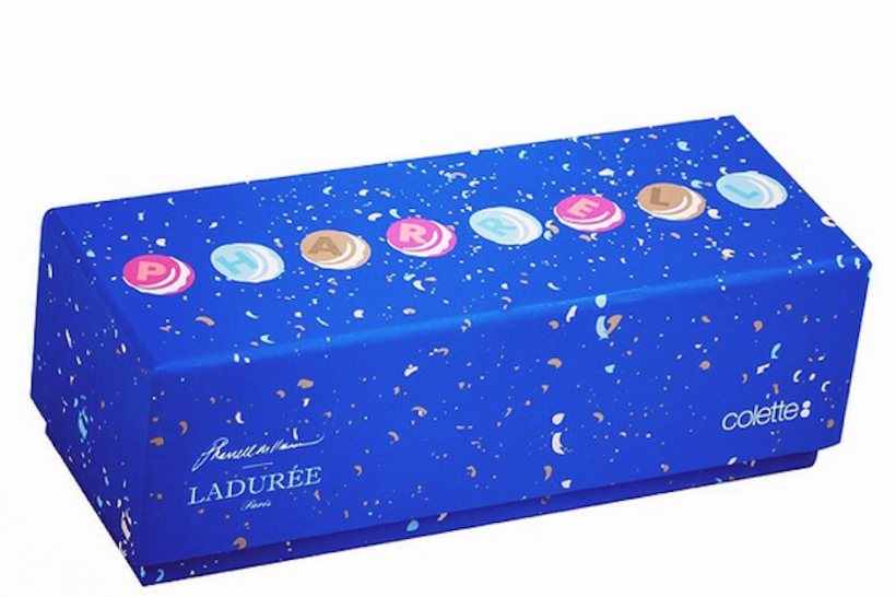 Haben wollen! Die Pharrell-Sonderedition der Macarons von Laduree gibt es nur bei Colette.