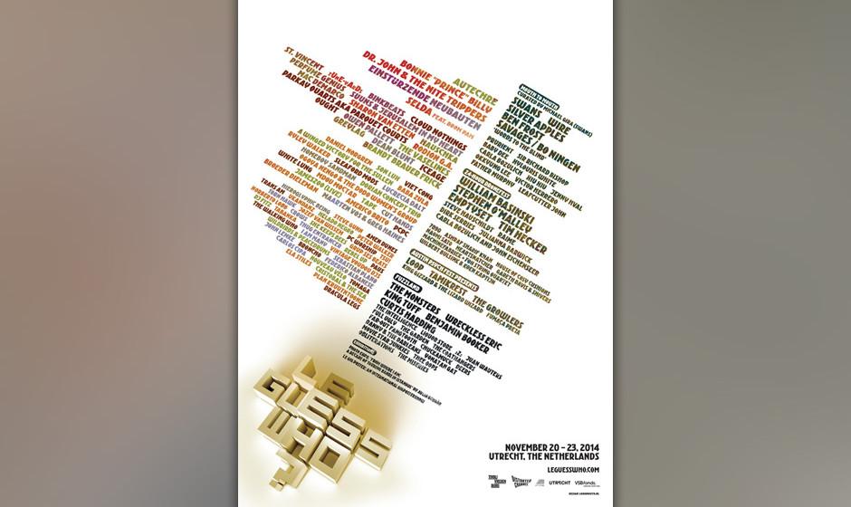 Das 'Le Guess Who?'-Festival findet vom 20. bis 23. November in Utrecht statt.