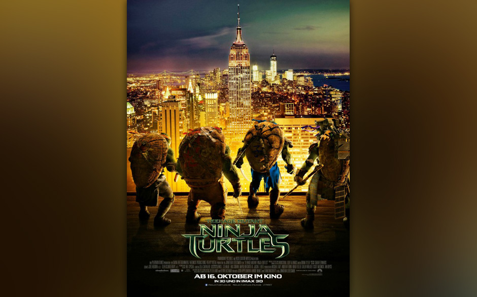 'Teenage Mutant Ninja Turtles' - Die aktuelle Nummer 1 der Kino-Charts