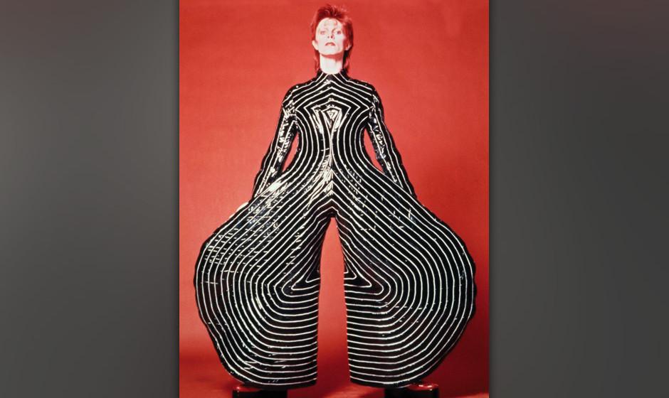 David Bowie bietet etliche Vorlagen für Verkleidungen