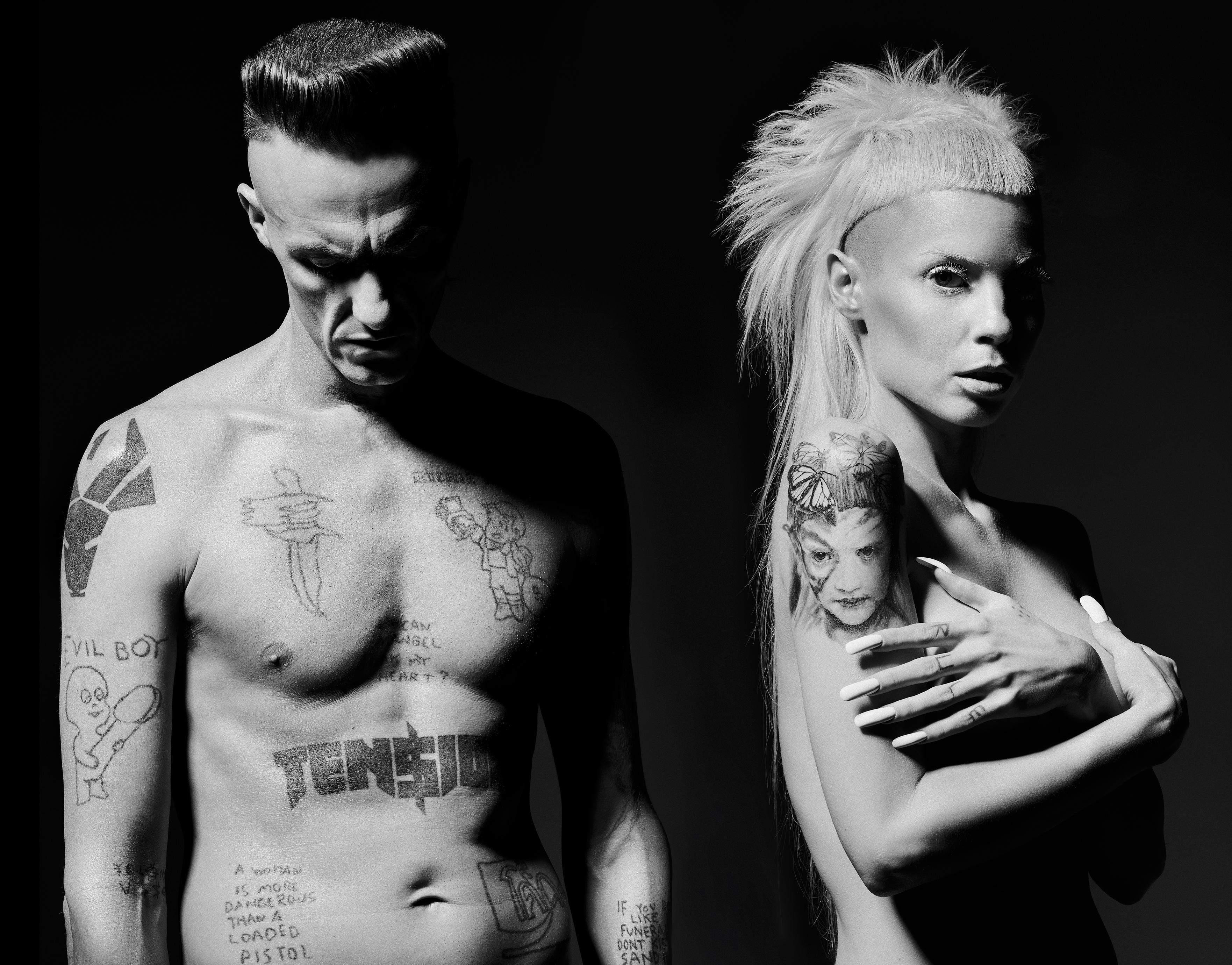 Die Antwoord haben ein neues Video zum Song 'Ugly Boy' veröffentlicht.