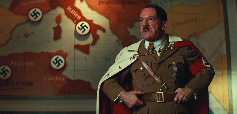 Martin Wuttke als Hitler im Film 'Inglourious Basterds'