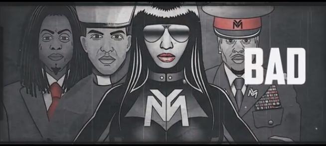 Nicki Minaj' neuer Clip enthält...
